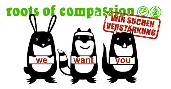 roots of compassion sucht Verstärkung!