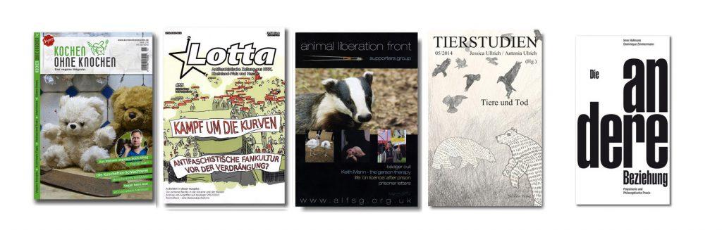 Abbildung der neuen Bücher und Magazine