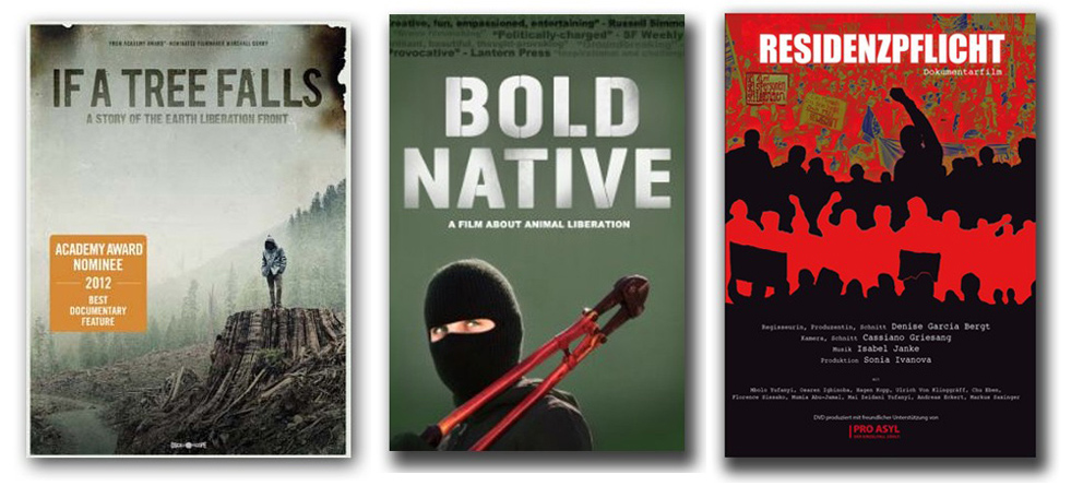 Abbildung der drei neuen DVD Cover