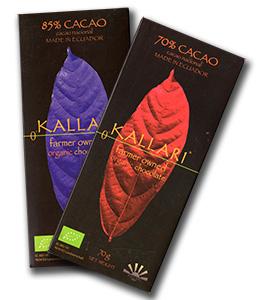 Feine Bitterschokoladen von der Kooperative Kallari in Ecuador