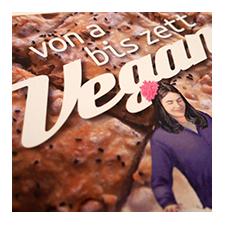 Von A bis Zett vegan - Kochbuch mit schönen Illustrationen von Hartmut Kiewert