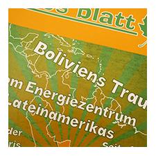 grünes blatt - Zeitschrift für Umweltschutz von unten