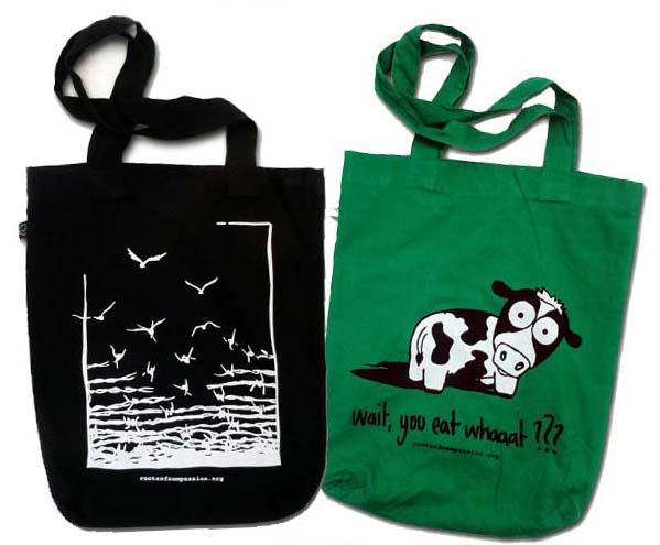 Abbildung der beiden Taschen