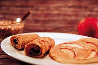 Vegane Pfannkuchen - Müslipfannkuchen aus 'Vegane Küche für Kinder'