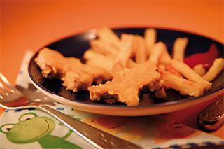 Veganes Schnitzel selbstgemacht - mit Pommes ...