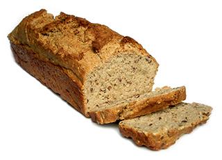 Veganes Brot, blitzschnell zubereitet - Rezeptfoto