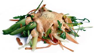 Vegane Rohkostspaghetti aus 'Vegan lecker lecker! - Rezeptfoto