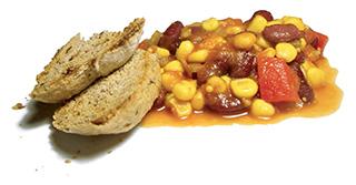Rezeptbild von veganem Chili con Tofu