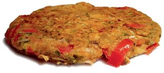Vegane Gemüsepfannkuchen aus 'Vegan lecker lecker!'