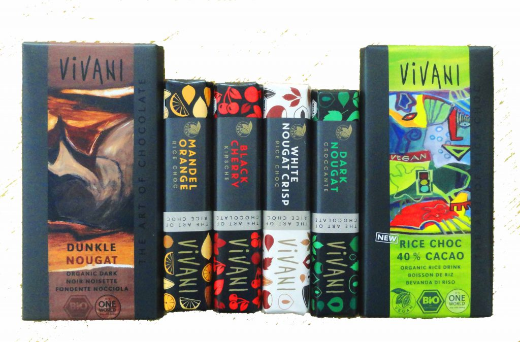New vegan chocolates from Vivani