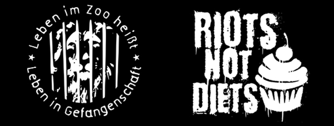 New patches: Riots Not Diets und Life in zoos