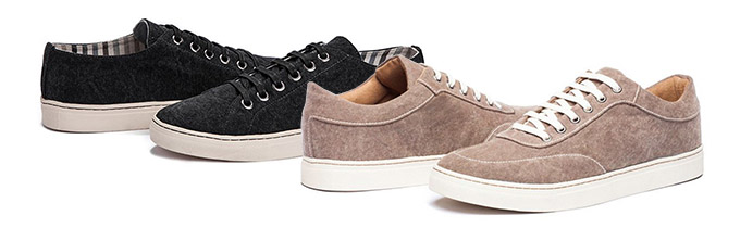 Ahimsa: new vegan shoes from Brazil - two styles available: sneaker and tenis.
