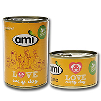Ami Dog Love - vegan wet food for dogs