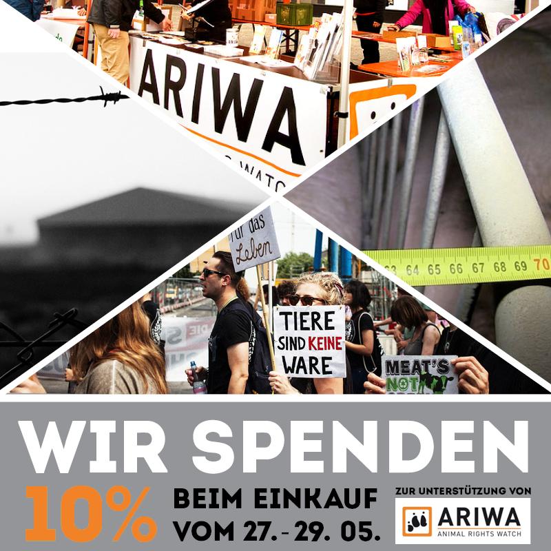 Spendenaktion für ARIWA bei roots of compassion