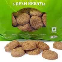 Vegane Benevo dog biscuits - for a fresh breathe