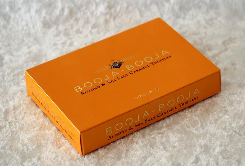 Almond Salted Caramel - vegan truffels from Booja Booja
