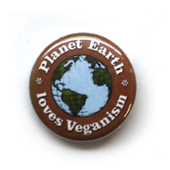 button planet earth