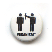 button veganism