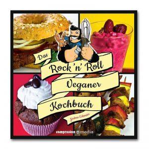 Das Rock 'n' Roll Veganer Kochbuch Jérôme Eckmeier