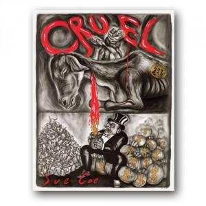 Das Buch 'Cruel' von Sue Coe