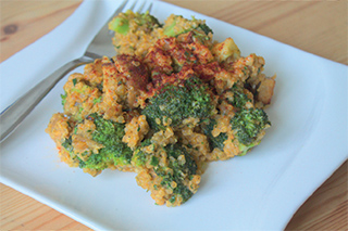 Vegane Brokkoli-Quinoa-Pfanne aus 'Vegan Kochen mit Ente'