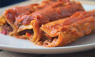 Vegane Canneloni aus 'Vegan kochen mit Ente'
