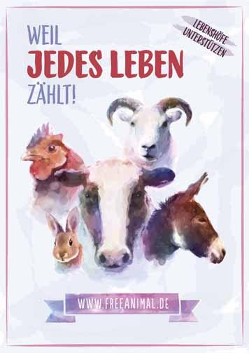 Free Animal Plakatmotiv