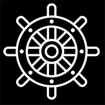 Hard To Port Logo