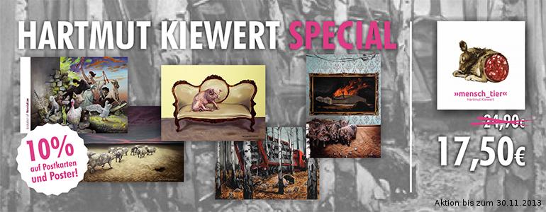 mensch_tier jetzt für nur noch 17,50 € zu haben, außerdem sind bis 30. November alle Poster und Postkarten von Hartmut Kiewert um 10 % reduziert!