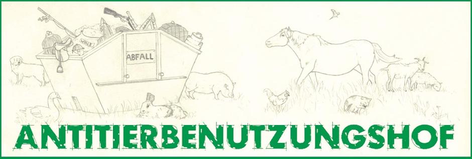 Banner des Antitierbenutzungshofes