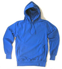 new hoodie: light blue