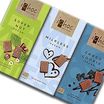 3 new iChocs: Choco Cookies, Milkless und Super Nut