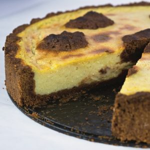 russischer Zupfkuchen vegan Jérôme Eckmeier Das Rock 'n' Roll Veganer Kochbuch