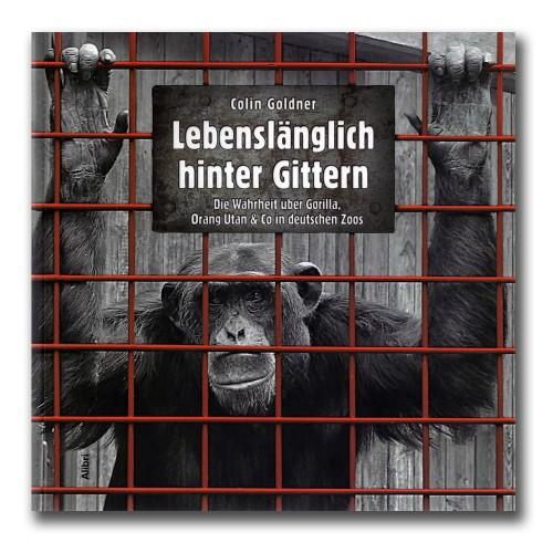 Abbildung des Buchcovers: ein Affe hinter Gitterstäben