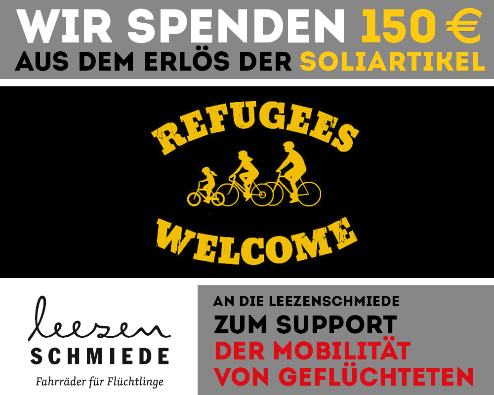 roots of compassion spendet 150 € an Leezenschmiede.