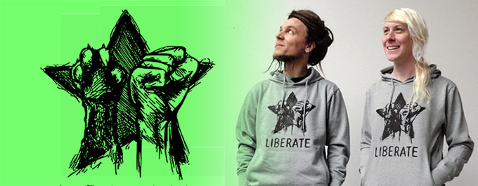 The new Liberate-Hoodie from roots of compassion - presented by Simon and Benja