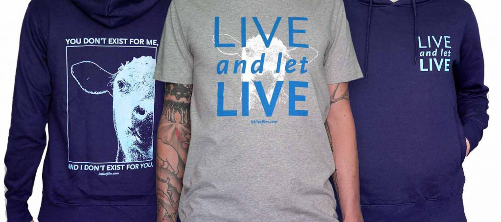 picture of Live and Let Live T-Shirts and hooded sweatshirt