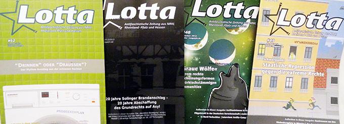 eine von vier Ausgaben der Lotta bekommt ihr heute gratis mitgeschickt