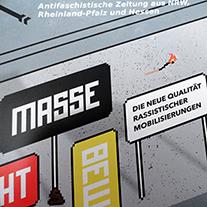 Die neue Lotta, das antifaschistische Magazin, ist wieder da. Diesmal mit dem Schwerpunkt 'Die neue Qualität rassistischer Mobilisierungen'