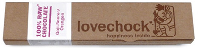 Lovechock - yummy raw chocolate