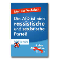 That's about the new German fascist party ...