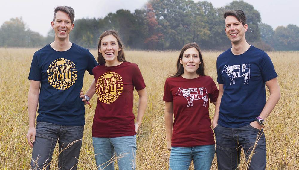 Neue T-Shirts: Mit_Gefühl und Other Animals