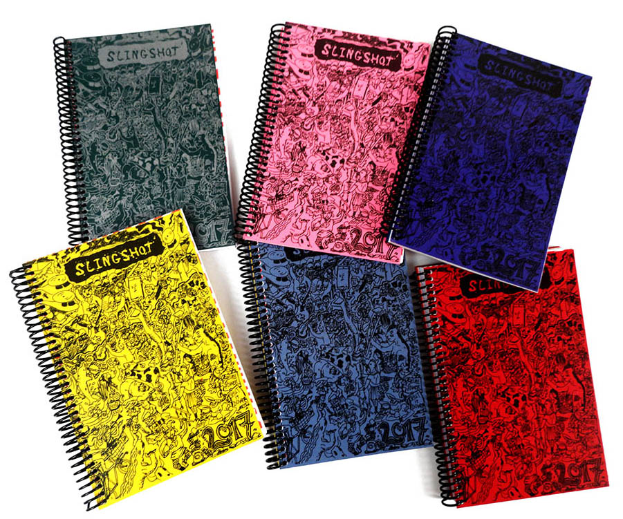 Slingshot Desk Planners - different colours