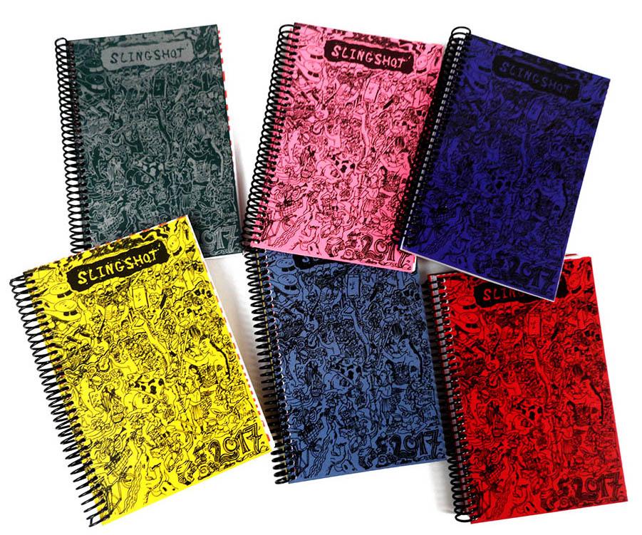 Slingshot Desk Planner - wenn der Taschenkalender zu klein wird ...