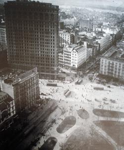 Großstadtansichtskarte