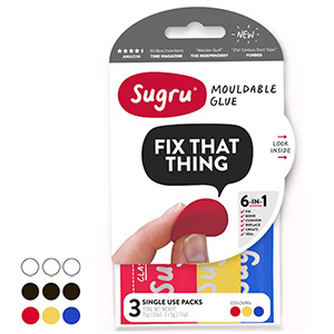 Sugru is also available in a pack of 3