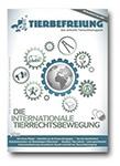 Cover der Ausgabe 81 der TIERBEFREIUNG. Titelthema ist die internationale Tierrechtsbewegung.