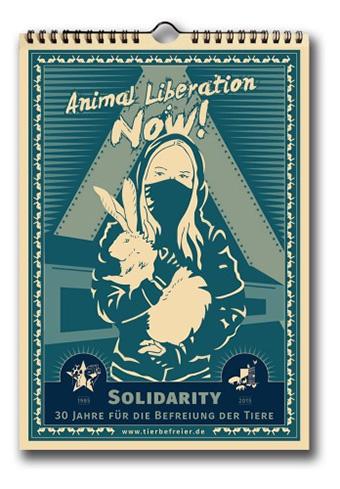 animal liberation benefit calendar 2016