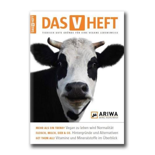 Abbildung des Heftes: das Cover zeigt eine Kuh