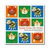 Vegane Küche für Kinder - veganes Kochbuch und Ratgeber